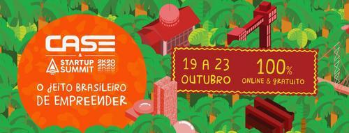 CASE e Startup Summit se unem e consolidam o maior evento de empreendedorismo online da América Latina
